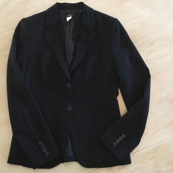 J. Crew Jackets & Blazers - J. Crew Wool Blazer Black Size 4
